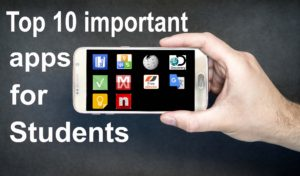Top 10 important apps for students