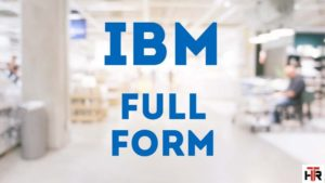 ibm full form