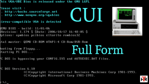 CUI Full Form